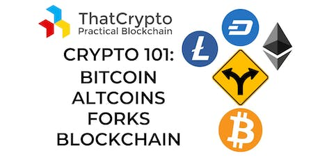 Reviewing Fundamentals: What is Bitcoin, Altcoins, Forks, Blockchain tickets