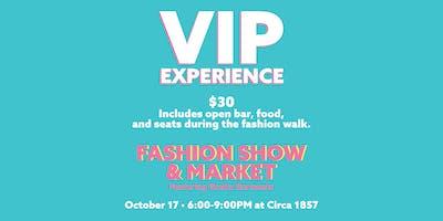 VIP Fashion Show Experience