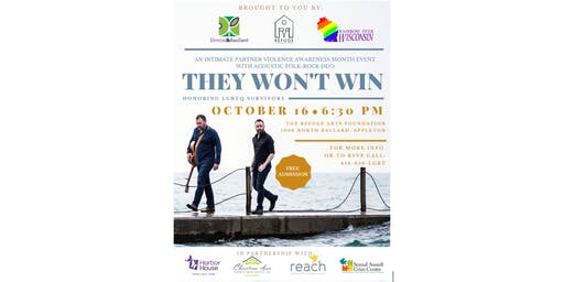 An Intimate Partner Violence Awareness Month Event with They Won't Win