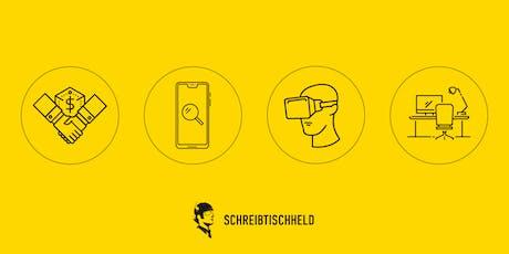 SCHREIBTISCHHELD meetup//008 Tickets