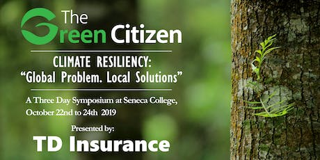 2019 Green Citizen Symposium: Session 1 tickets