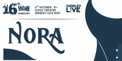 Nora @ Chorley Live 2019 (tickets/wristbands cover