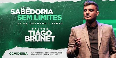 SABEDORIA SEM LIMITES com Tiago Brunet ingressos