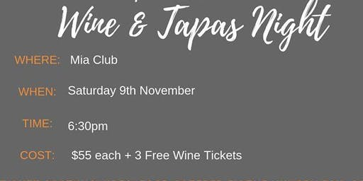 Riverina Organic Wine and Tapas Night