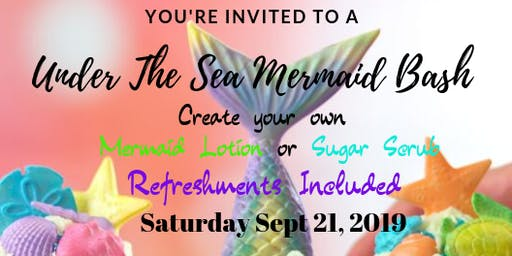 Under The Sea Mermaid Bash