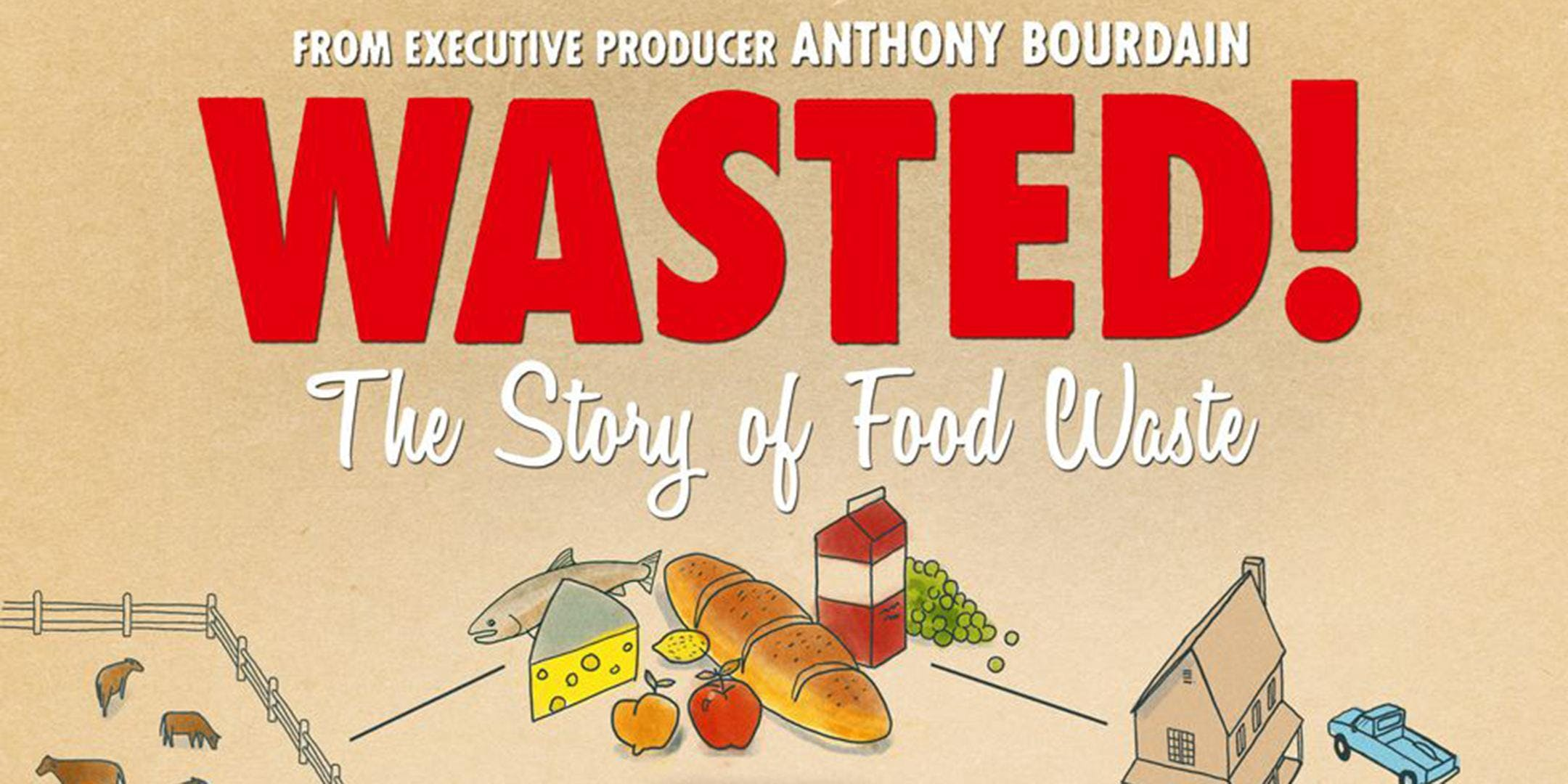 WASTED The Story of Food Waste Film Screening