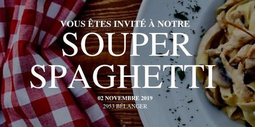 Soirée bénéfice - Souper spaghetti 2019