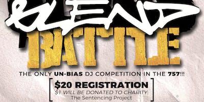 DJ REGISTRATION ONLY! 757 BLEND BATTLE 2 * DJ REGISTER TO BATTLE!!!