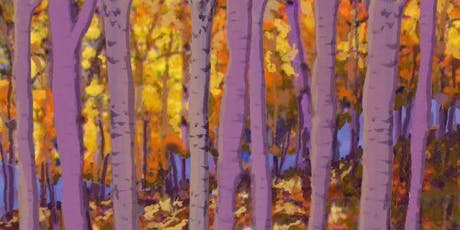 Autumn Aspens Painting Party at Brush & Cork tickets
