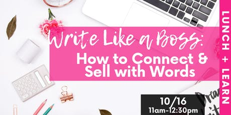 Write Like a Boss tickets