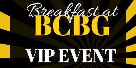 Breakfast at BCBG tickets