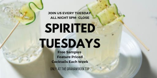 Spirited Tuesdays at The Graham Rooftop