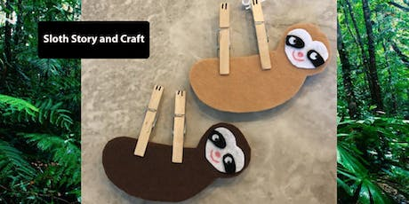 Sloth Storytime & Craft tickets