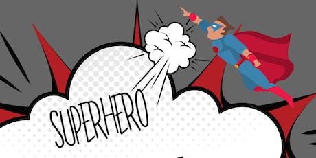Wonder Woman & Spiderman Superhero Party! tickets