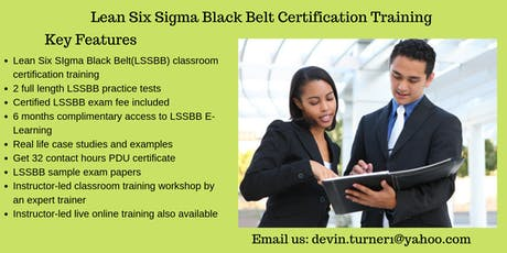 LSSBB Training in Powell River, BC tickets