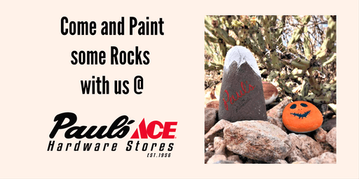 Rock Painting Craft @ Paul's Ace Hardware Broadway & rural