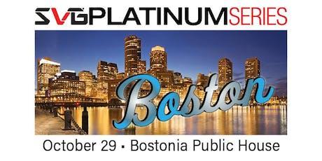 2019 SVG Platinum Series: Boston tickets