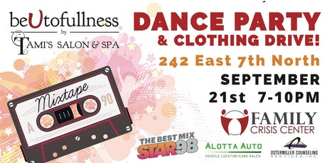 BeUtofullness Dance Party and Clothing Drive tickets
