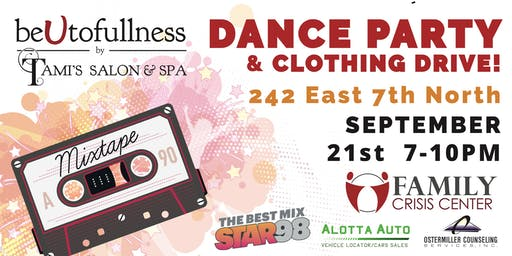 BeUtofullness Dance Party and Clothing Drive