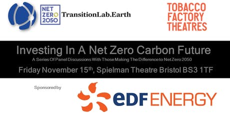 Investing In A Net Zero Carbon Future tickets