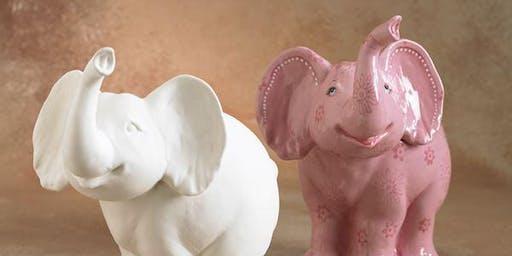 The Big Launch - Daisy Elephant Craft Den