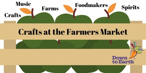 Farmers Market Crafts Pop-Up