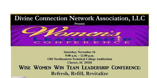 Wise Women Win Team Leadership Conference: Refresh, Refill, Revitalize