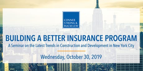 New York City Seminar - Latest Trends in Construction and Development tickets
