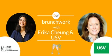 Union Square Ventures & Theranos Whistleblower brunchwork tickets