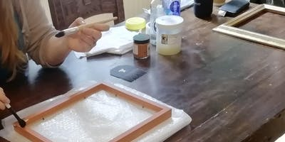 Gilding Master Class with Gilding Expert Richard Walker