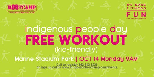Indigenous People Day - FREE workout (kid-friendly)