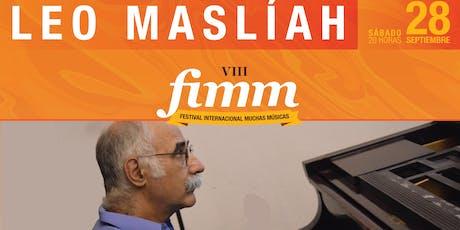 Leo Maslíah (Uruguay) entradas