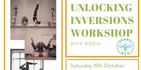 Unlocking Inversions Yoga Workshop tickets