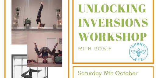 Unlocking Inversions Yoga Workshop