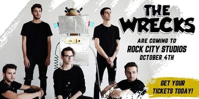 The Wrecks at Rock City Studios