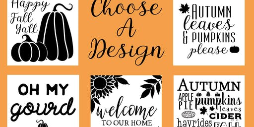 Fall Themed Sip and Sign Night