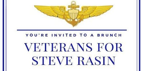 VETERAN'S BRUNCH W/STEVE RASIN CANDIDATE FOR MAYOR tickets