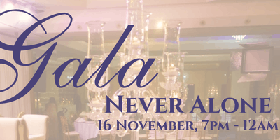 Charity Gala Dinner- Never Alone