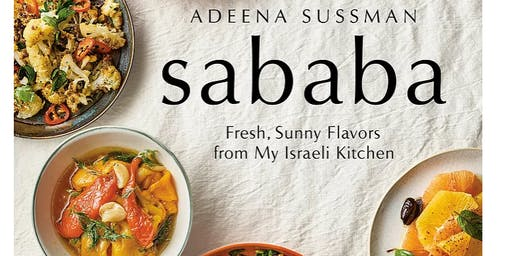 Cookbook Author Adeena Sussman Visits Temple Beth Israel