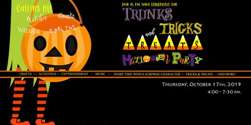 Trunks, Tricks and Treats Halloween Party