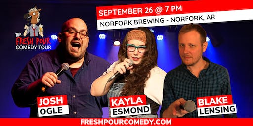 The Fresh Pour Comedy Tour @ Norfork Brewing