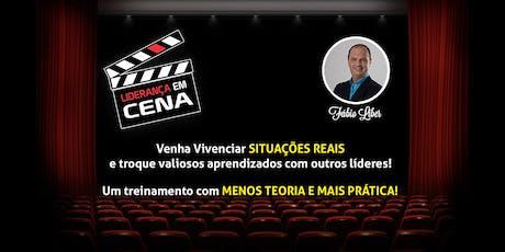 Workshop Liderança em Cena - Vivencie situações reais e troque experiências! ingressos