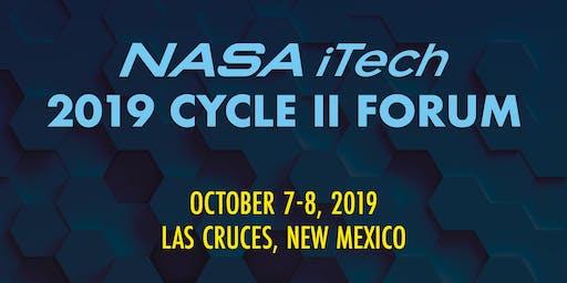 2019 NASA iTech Cycle II Forum