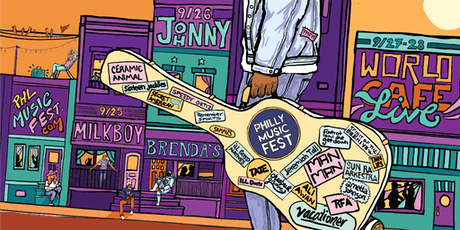 Philly Music Fest -SATURDAY tickets