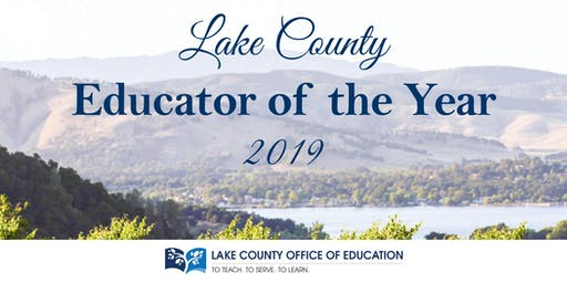 Lake County Excellence in Education Awards Dinner