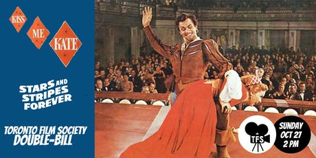 KISS ME KATE (1953) and STARS AND STRIPES FOREVER (1952) tickets