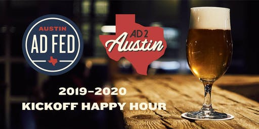 AAF Austin & Ad 2 Austin 2019–2020 Kickoff Happy Hour
