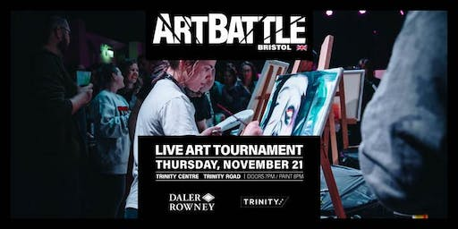 Art Battle Bristol - 21 November, 2019