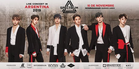 ¡Spectrum en Argentina! | 10 de Noviembre, Club Museum entradas