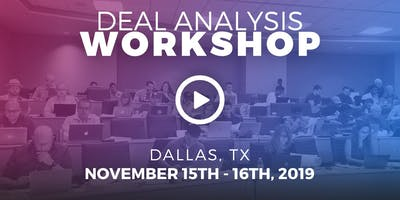 Deal Analysis Workshop